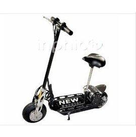 INPHIC-時速達25公里 華東酷炫款電動滑板車 迷你折疊電動車 36v折疊電瓶車 黑色
