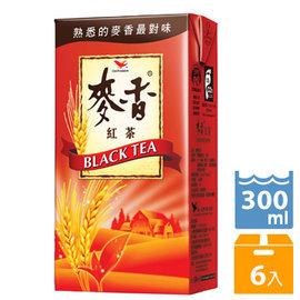 《统一》麦香红茶 300c.c (6入/组)