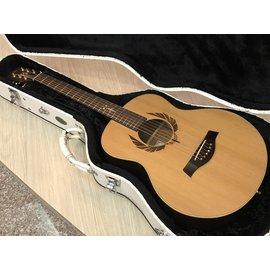 ~彈心琴園樂器館~2017年 Fina FS~8552 GS~MINI桶 玫瑰木單板木吉他