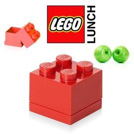 ^(周邊^) 樂高LEGO 迷你方塊四置物盒^(鮮紅色^) TOYeGO 玩具e哥