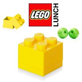 周邊  樂高LEGO 迷你方塊四置物盒 檸黃色  TOYeGO 玩具e哥