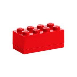 周邊 11-12月 樂高LEGO 迷你方塊八置物盒 鮮紅色  TOYeGO 玩具e哥