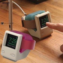 美國 elago Apple Watch W4 賈伯斯iMac 充電支架1998年 款底座