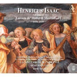AVSA9922 艾薩克:馬克西米倫一世及羅倫佐·梅迪奇時期音樂 Henricus Isa