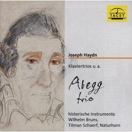 TACET195 海頓:鋼琴三重奏等(古樂器演奏版) 阿貝格三重奏 Klaviertri
