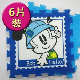 Hello Kitty Bob Dog巴布豆 姆姆抱抱~EPE卡通 地墊 6入