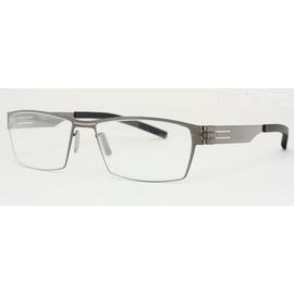 F0580103~ 大臉也  0.5mm超薄鋼板眼鏡 金屬框~薄框  ic Berlin外