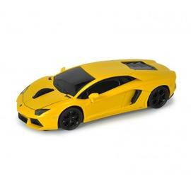 AutoDrive跑車 無線滑鼠~Lamborghini LP700~4^(黃^)