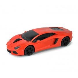 AutoDrive跑車 無線滑鼠~Lamborghini LP700~4^(橘^)