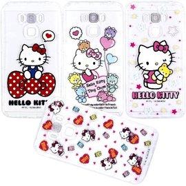 Hello Kitty 正版授權 彩繪防摔空壓殼 5.5吋 ZenFone 3 Max/ZC553KL/X00DD ASUS 手機套/保護套/手機殼/保護殼/防撞/氣囊殼