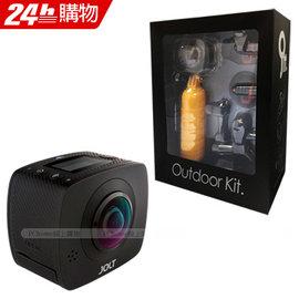 GIGABYTE技嘉 JOLT DUO 360度全景双眼运动摄影机+户外组