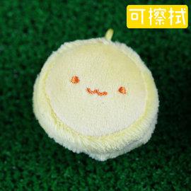 【nicopy】麵包系列-手機螢幕擦吊飾~馬卡龍粉黃