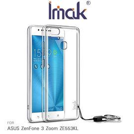 【愛瘋潮】急件勿下 Imak ASUS ZenFone 3 Zoom ZE553KL 羽翼三代水晶殼 清透耐磨 透明殼
