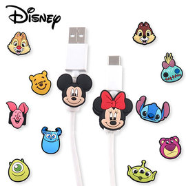 Disney 迪士尼 人物USB線 套組 1組2入  多款 ~美麗販售機~