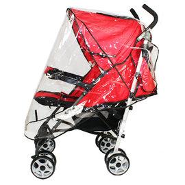 C043 透明防水透氣嬰兒手推車雨罩 防風雨罩 嬰兒推車雨罩