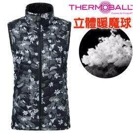 ~美國 The North Face~女 ThermoBall 極輕量暖魔球防風科技羽絨背