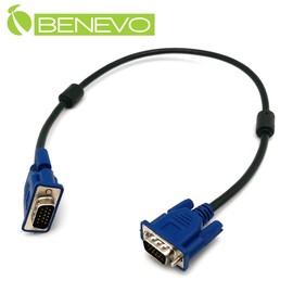 支援EDID對應!BENEVO 40cm 高畫質VGA連接線 公對公 3 7 20276