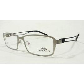 ~凹凸眼鏡~ 製~皇MIKADO~IP~β鈦金屬鏡框 M3955~2242 ~臉寬者 ~六