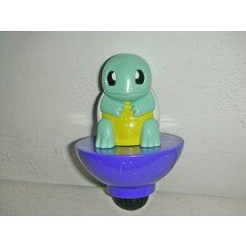 aaL皮商旋. 企業寶寶公仔娃娃 少見2004年麥當勞發行神奇寶貝超世代 陀螺玩具 ~傑尼