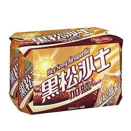 大買家 黑松沙士~加鹽 330ml~6罐 組