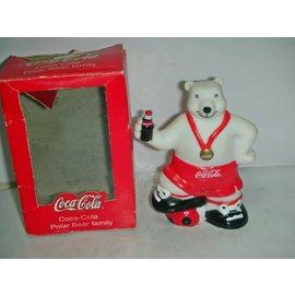 aaL皮商旋. 企業寶寶玩偶娃娃 此款少見 附盒Coca Cola 可樂北極熊公仔! 黑箱