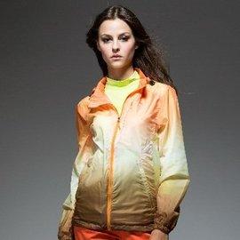 ~H.Y SPORT~~SLAZENGER~女~抗紫外線速乾超薄單層夾克544103 橘