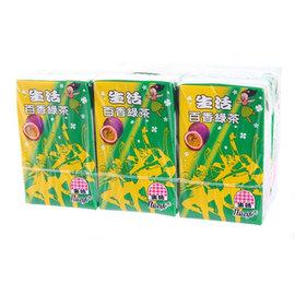 [大买家]生活泡沫百香绿茶(250mlx6包/组)