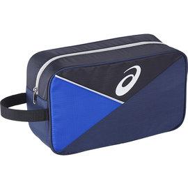 ASICS 亚瑟士 运动必备 鞋袋 方便 不怕脏 拼色 - BES-70-5090 蓝X黑 [阳光乐活]