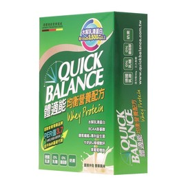 ~Quick Balance體適能~均衡營養配方 30g~3入 盒