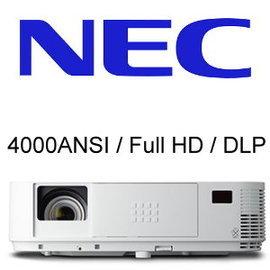 NEC M403HG 投影機WUXGA 教室 演講室 會議室 可透過1080p 清晰影像與
