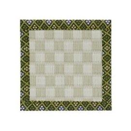 榻榻米和风杯垫 (Checkered Green)
