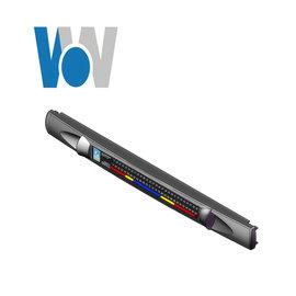 CPI 19吋寬機櫃 1U 空氣擋板帶溫度顯示
