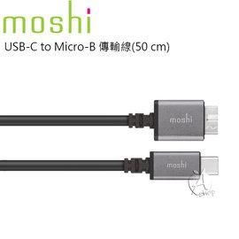 【A Shop】Moshi USB-C to Micro-B 傳輸線