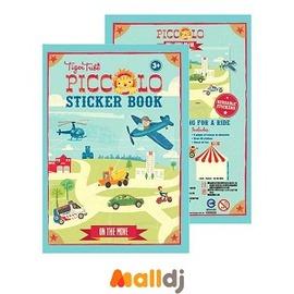 Malldj親子 網 ~ Tiger Tribe 澳洲 遊戲貼紙口袋書 ~ 交通工具 #P