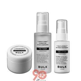 【90JP日本代購】BULK HOMME男士臉部清潔保養旅行組(洗面乳+化妝水+乳液)