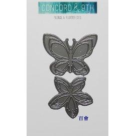 Concord  9th 刀模 Floral  Flutter