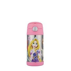 THERMOS 膳魔師不鏽鋼真空保溫瓶 360ml 迪士尼公主限定版 (F4014PN6)