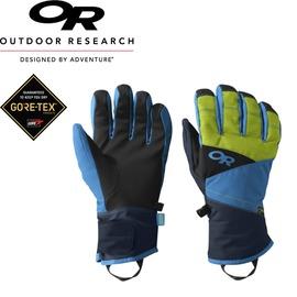 【Outdoor Research 美國 特 MEN`S CENTURION GLOVES透氣保暖手套《黑/藍/綠》】防水防風/拉勾環//243364