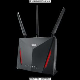 [促] 華碩 華碩 AC2900 雙頻 MU-MIMO Gigabit無線路由器 RT-AC86U 華碩 AC2900 雙頻 MU-MIMO Gigabit無線 [HBI] [全新免運][編號 W35