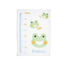 *买1送1* Kaeru哈皮蛙 - 长方形双层纱布浴巾