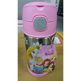 THERMOS 膳魔師 不銹鋼真空保冷瓶-迪士尼公主 粉紅 (F4005PN6) 370ml
