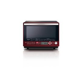 SHARP 小家電 泰製水波爐 R-HL5T 31公升 紅色 過熱水蒸氣烹調 熱風對流烘烤