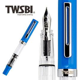 鋼筆  三文堂 TWSBI ECO T  藍色  EF