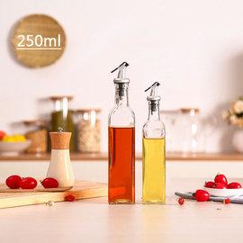 '艺瓶'瓶瓶罐罐 空瓶 空罐 分类瓶 玻璃油瓶 创意?房用品 密封油罐 油醋调味酱料瓶-250ml