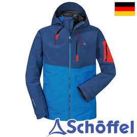 德国【Schoffel】ZipIn!系列-男GTX 3L防水外套(可套内里) / 7SL20-21940