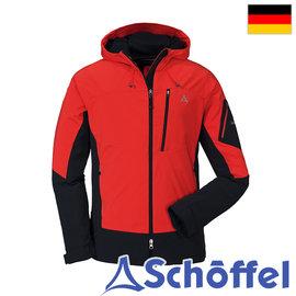 德国【Schoffel】男 Windstopper 防风抗雪保暖连帽外套 / 7SL20-21942