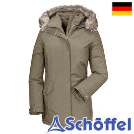 德国【Schoffel】女防水透气保暖连帽短大衣 / 7SL20-11885