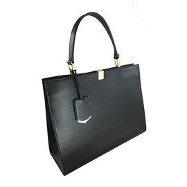 Balenciaga 巴黎世家 銅釦牛皮公事包8.8新 高優質感皮革手提包