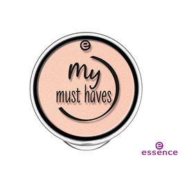 essence 艾森絲 絕對必備提亮粉餅(微珠光嫩橘)1.7g【美麗販售機】小盒裝