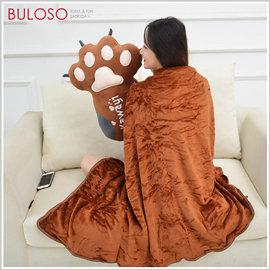 《不囉唆》可爱熊掌抱枕毯 被子/靠枕/毛毯/小凉被/车用/抱枕(可挑款/色)【A426337】